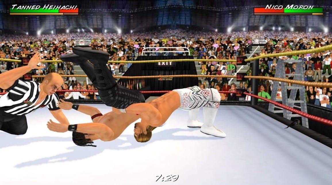 Wrestling Revolution 3D Apk Mod 1