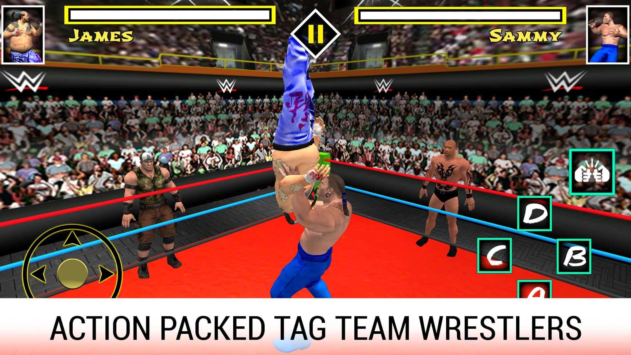 Wrestling Revolution 3D Apk Mod 3