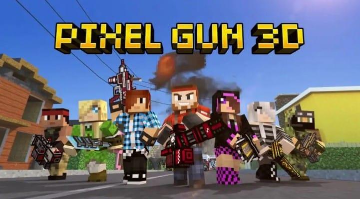 Pixel-Gun-3D-Apk-Mod